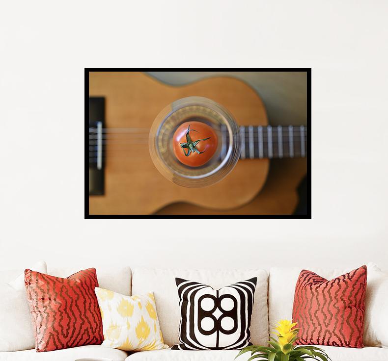 The rhythm of gitar - Flamenco