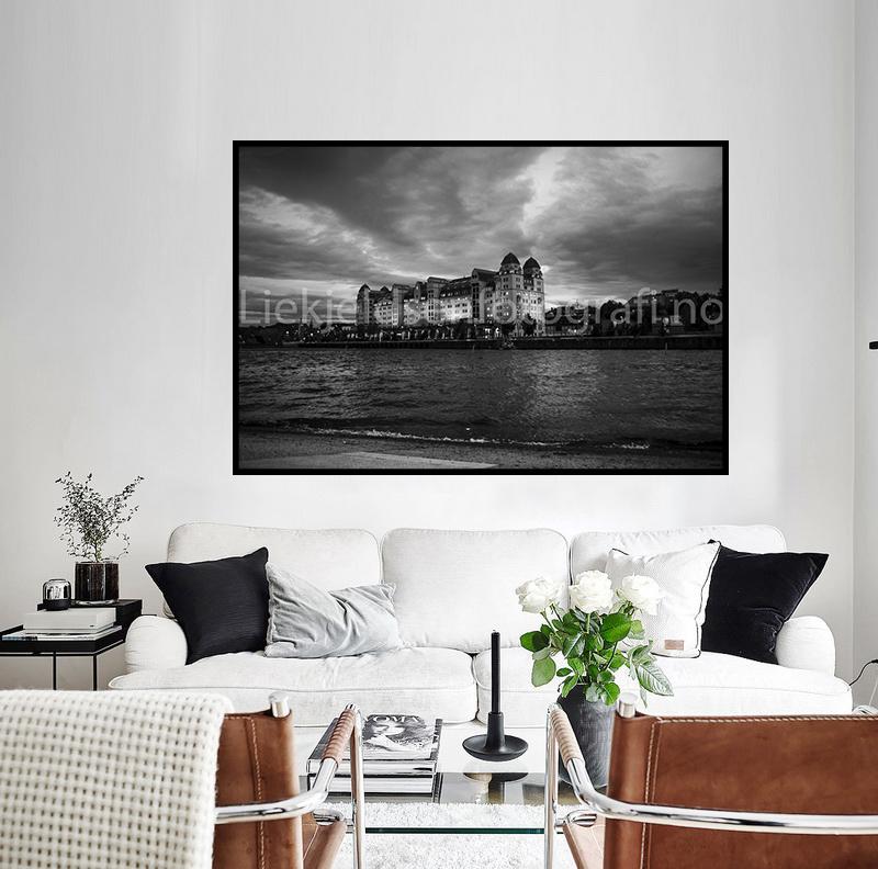 Oslo havnelager sorthvit