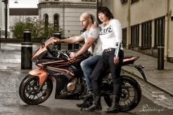 Motorsykkelshoot-
